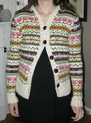 Ravelry: Fair Isle Hooded Cardigan pattern by Stephanie Wilson-Leedy