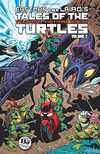 Tales Of The Teenage Mutant Ninja Turtles Volume 7  by Jim Lawson.  Please click on the book jacket to check availability or place a hold @ Otis.