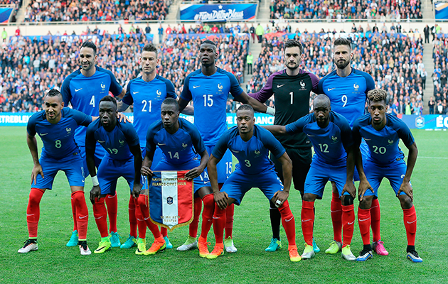 France football squad for fifa 2018