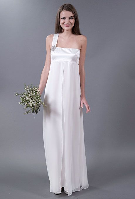 Casual Wedding Gowns With Simple Style For Your Second Walk Down The Aisle.  #weddings