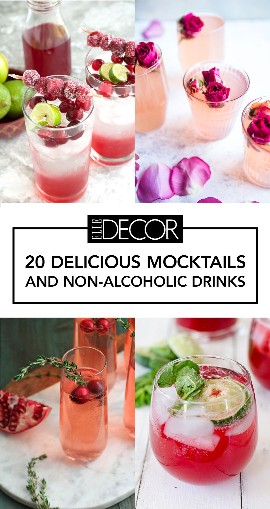 20 Mouthwatering Mocktails That Will Get The Party Started — Sans Booze #summeralcoholicdrinks