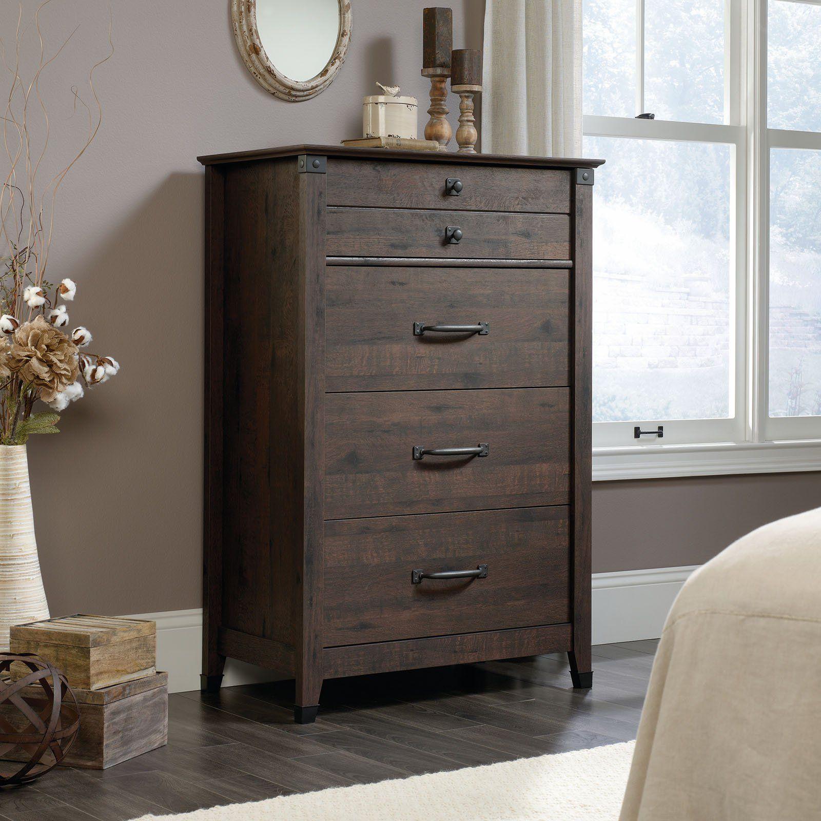 Best Sauder Carson Forge 4 Drawer Chest Furniture Sauder 400 x 300