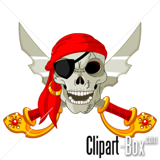 Clipart Pirate Head Swords Royalty Free Vector Design Skull Illustration Pirate Art Pirate Skull