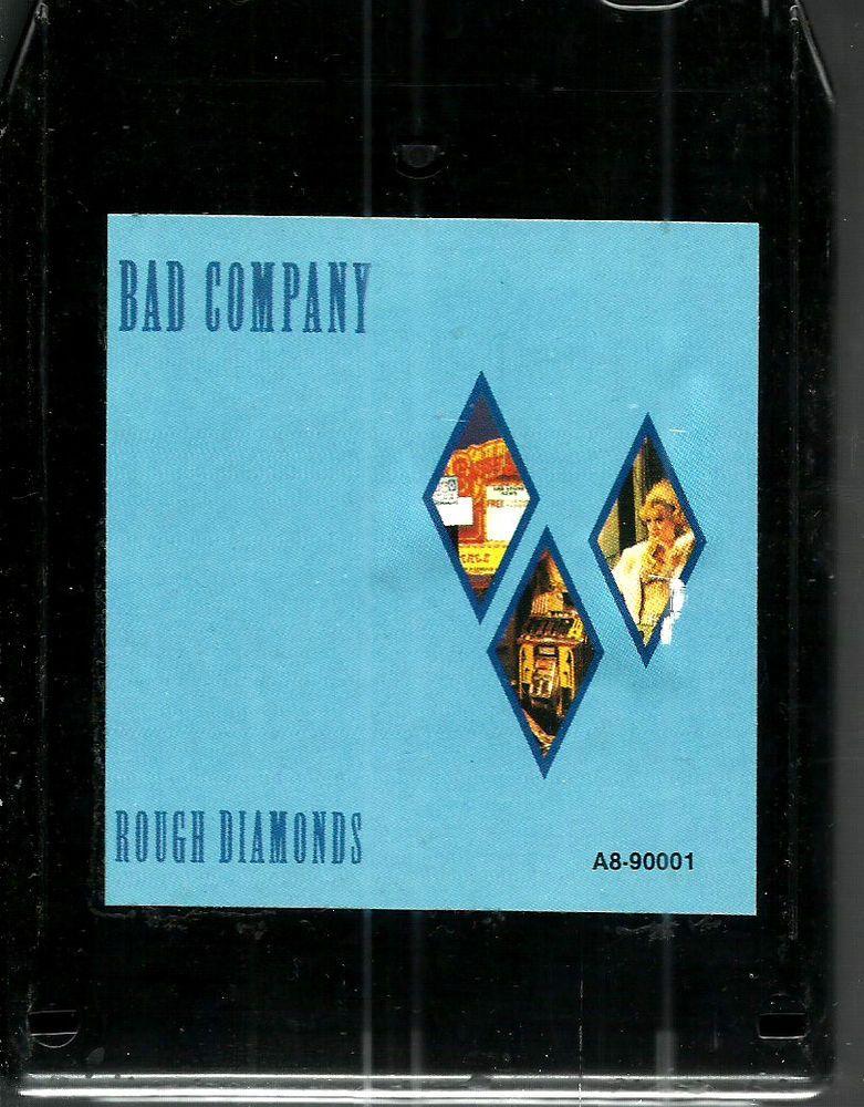Bad Company Rough Diamonds Rock 8 Track Tape Music Album