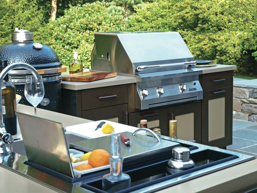 The Customizable Collection Include Exclusive Cabinetry Designs And Styles For Enhanced Ou Outdoor Kitchen Cabinets Luxury Outdoor Kitchen Outdoor Living Decor