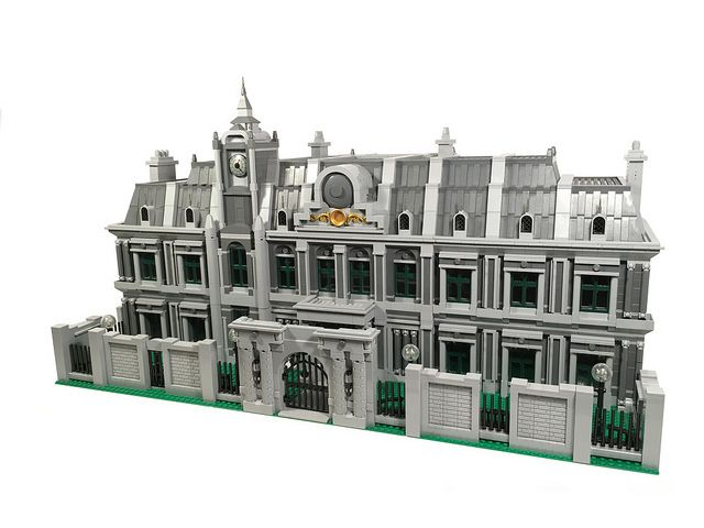 Raccoon City Police Department Lego Haunted House Lego Architecture Resident Evil