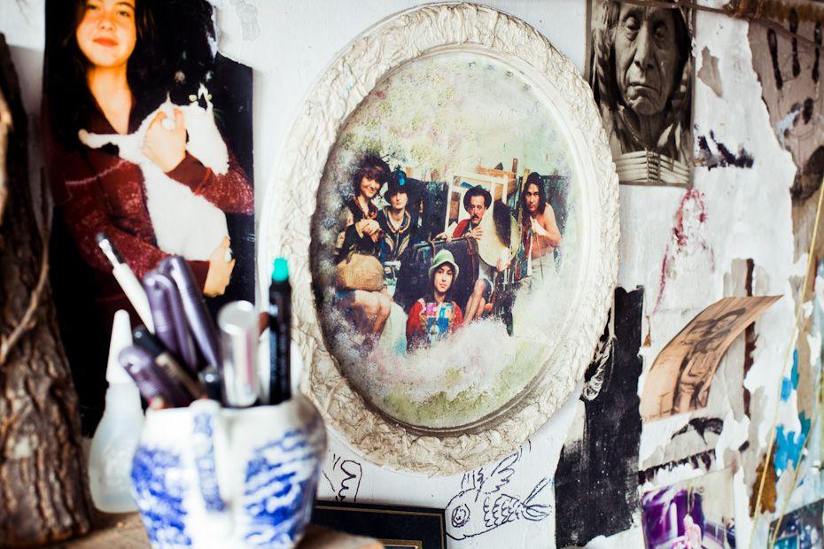 Melih Özuysal — Artist, Apartment, Istanbul-Ortaköy.