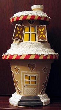 Toni Lebkuchenhaus Tontöpfe Pinterest Lebkuchen Weihnachten