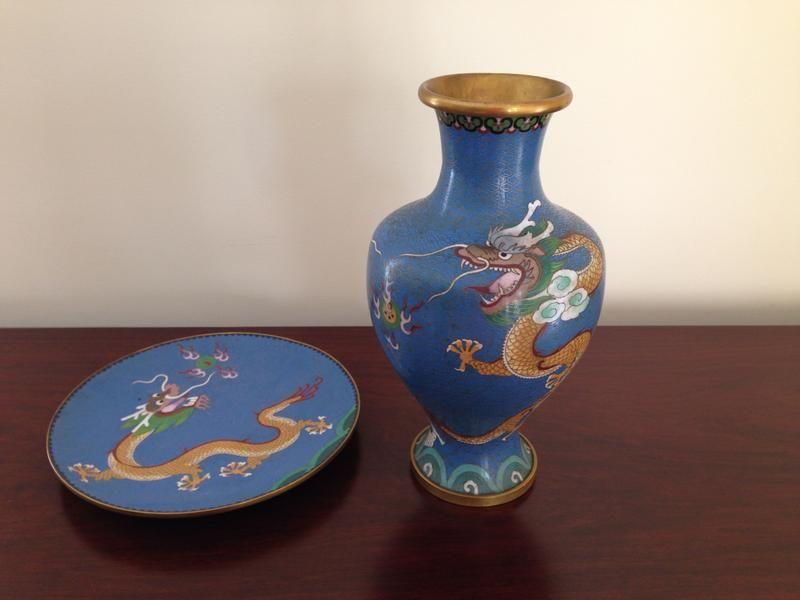 Dubizzle Dubai | Home Decor & Accents: Chinese Cloisonne Vase and