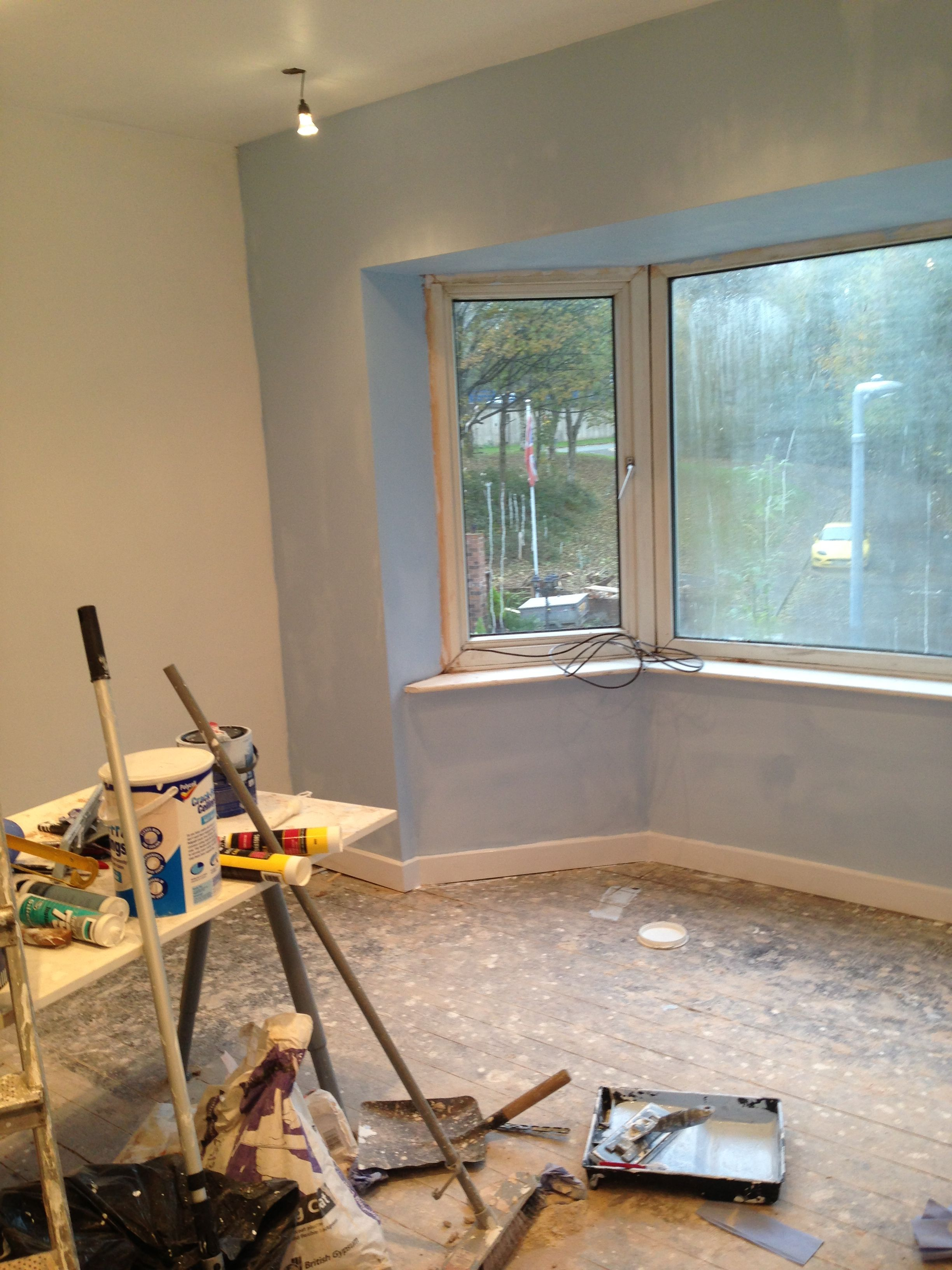Dulux Mineral Mist In The Bay Frosted Dawn For The Walls