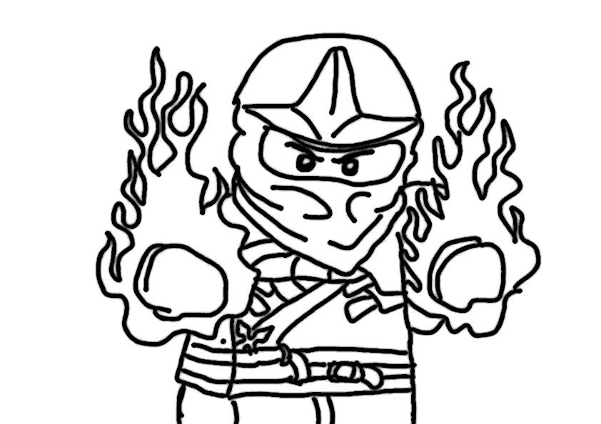 Ninjago Ausmalbilder Zum Ausdrucken 07 Sdas Color Angry