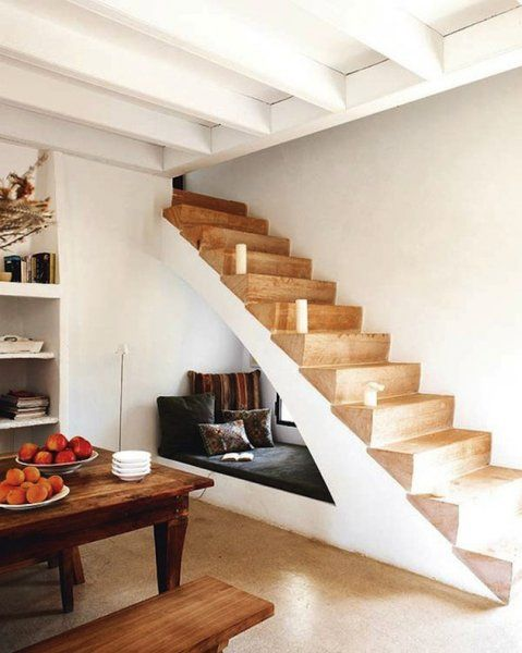 Twelve Unique Staircase Storage Ideas For Small Spaces! Nice Design