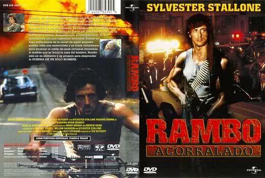 Saga Rambo 1-2-3-4 [DVDRip] [Audio Latino] [ULD]