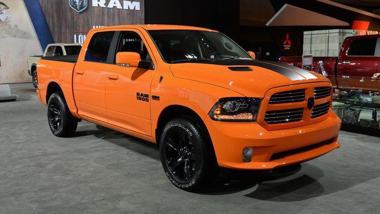 Ignition Orange 2017 Ram 1500 Sport LA 2016 Photo Gallery