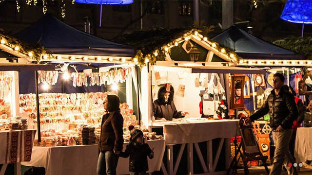 Charlotte Christmas Market.Romare Bearden Park In Uptown Charlotte Will Be Transformed