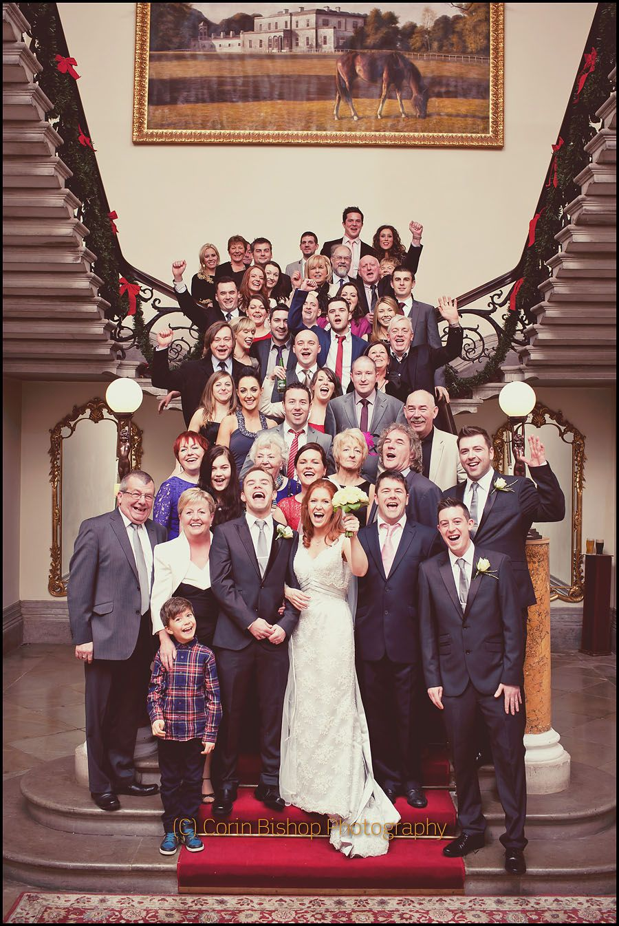 Wedding Photography Athlone: Middleton Park House Wedding Photography By Corin Bishop