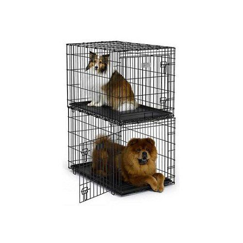 Designed Specifically To Stack Which Is Ideal For A Kennel Or