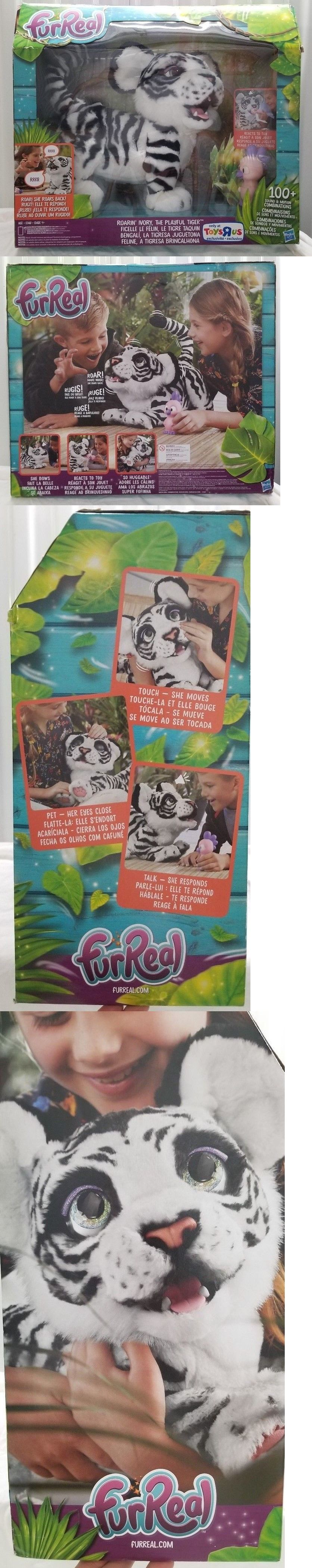 Furreal Friends 38288 Furreal Friends White Tiger Roarin Ivory