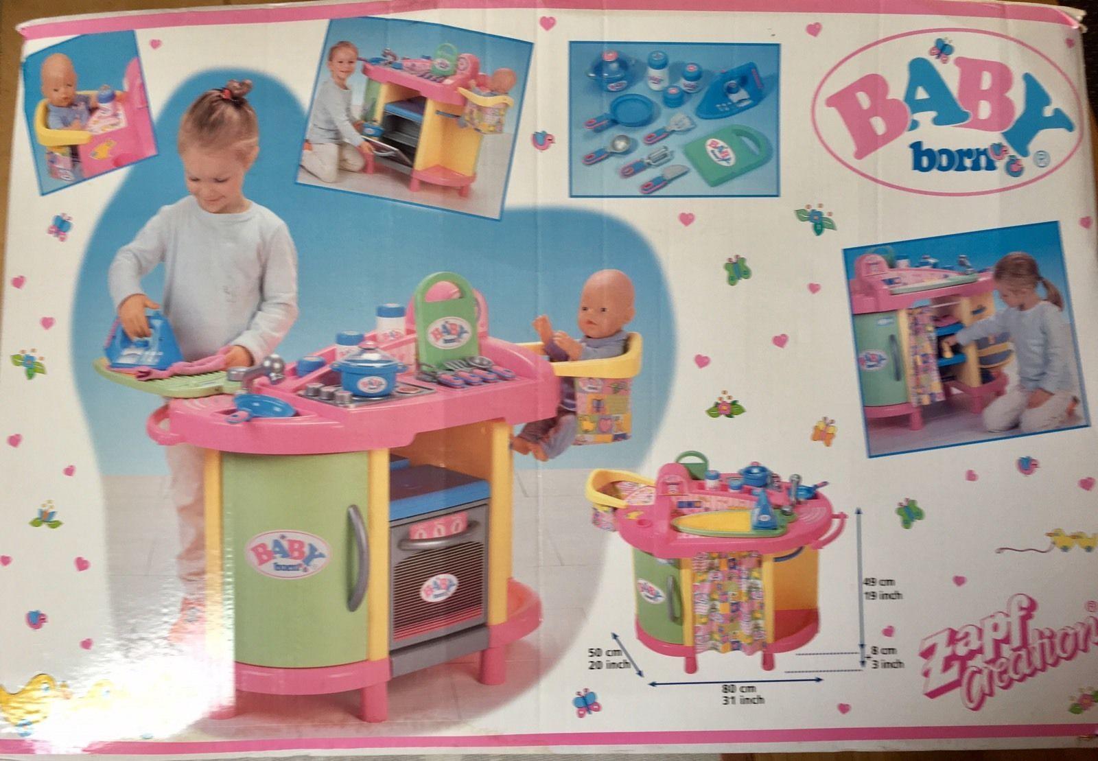 Zapf Creation Baby Born Kuche In Spielzeug Puppen Zubehor Babypuppen Zubehor Ebay Baby Born Zubehor Zapf Creation Baby Geboren