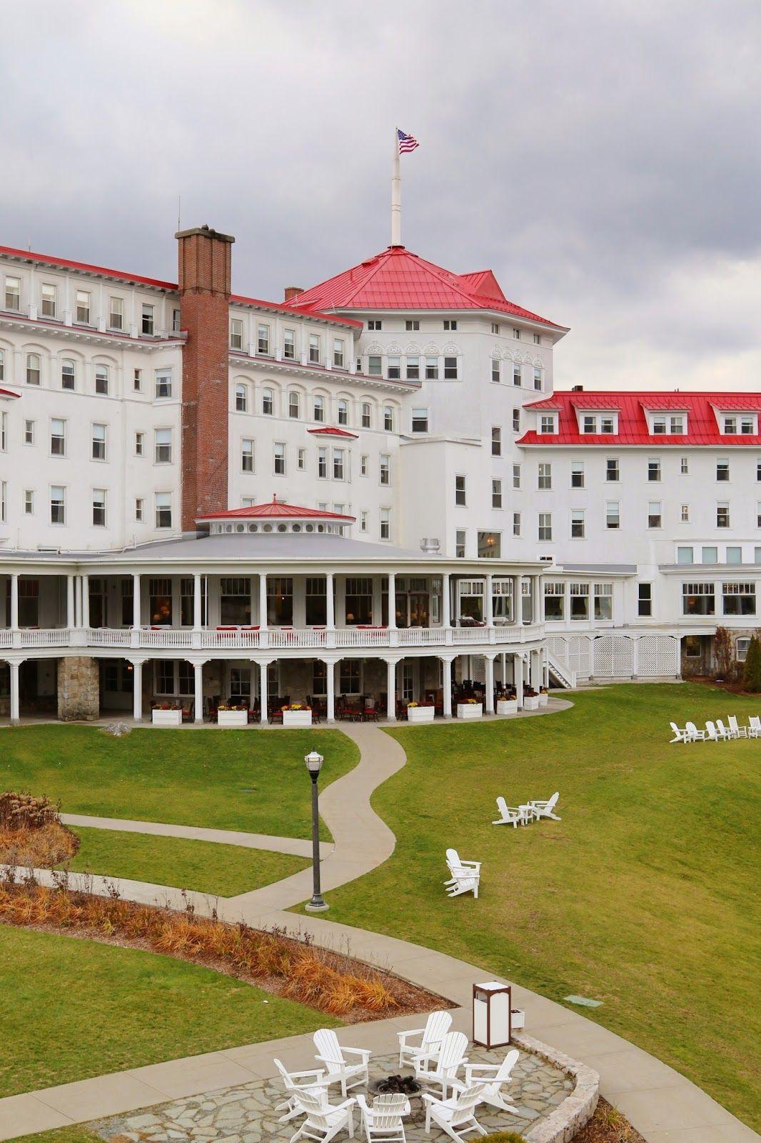 Mount Washington Hotel Bretton Woods New Hampshire Mount
