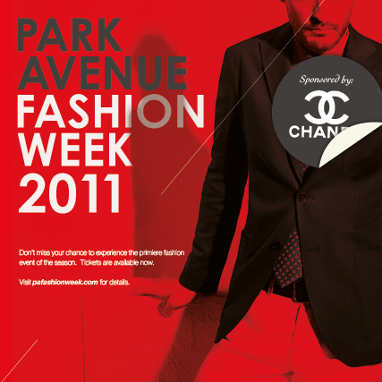 Fashion Week ad campaign & Landing Page on Behance