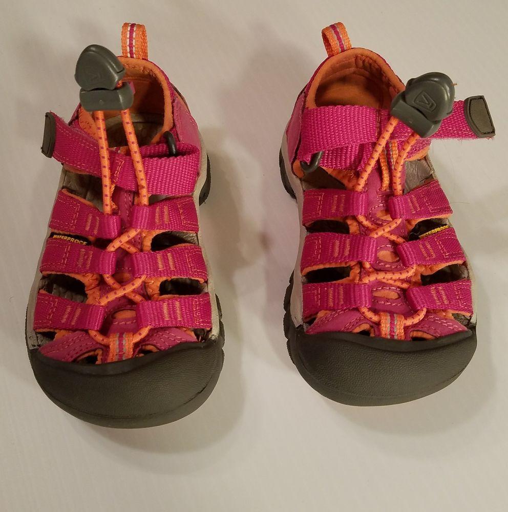 76609a5d2c0c KEEN Newport H2 Sandals Waterproof Shoes Pink Toddler Girls Size 8  Keen   Sandals