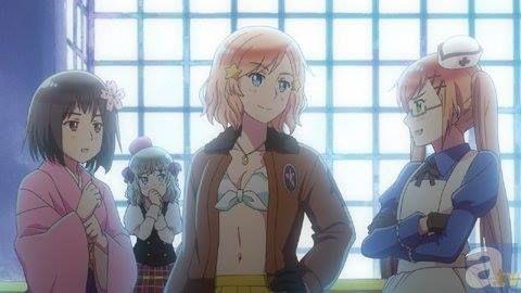 Screenshot Nyotalia Episode Left To Right Japan Latvia America