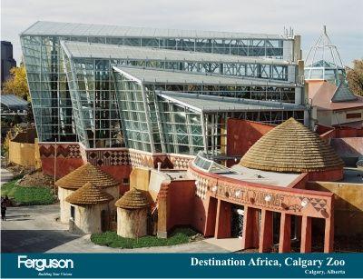 Africa Exhibit Calgary Zoo Calgary Drumheller Canada Travel