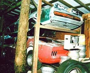 Barn Finds 70s Funny Cars