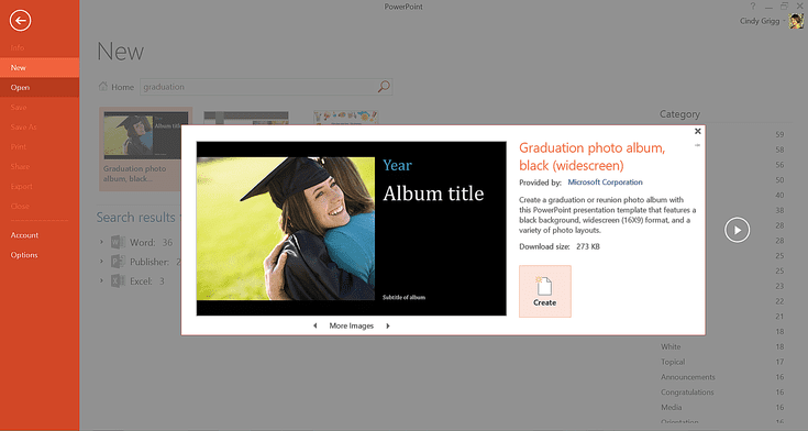 microsoft's best templates for honoring graduates | graduation, Modern powerpoint