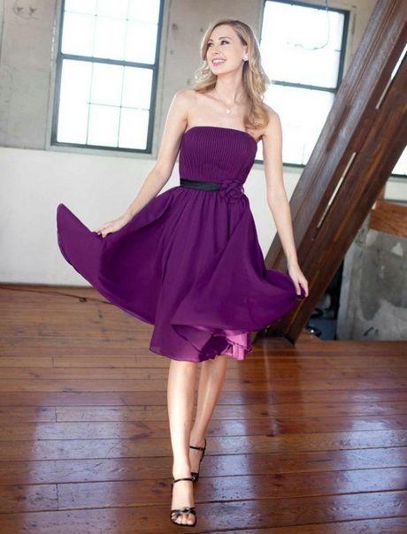 Kleid lila kurz   Hochzeit   Pinterest   Lila, Farbkonzept und Kleider