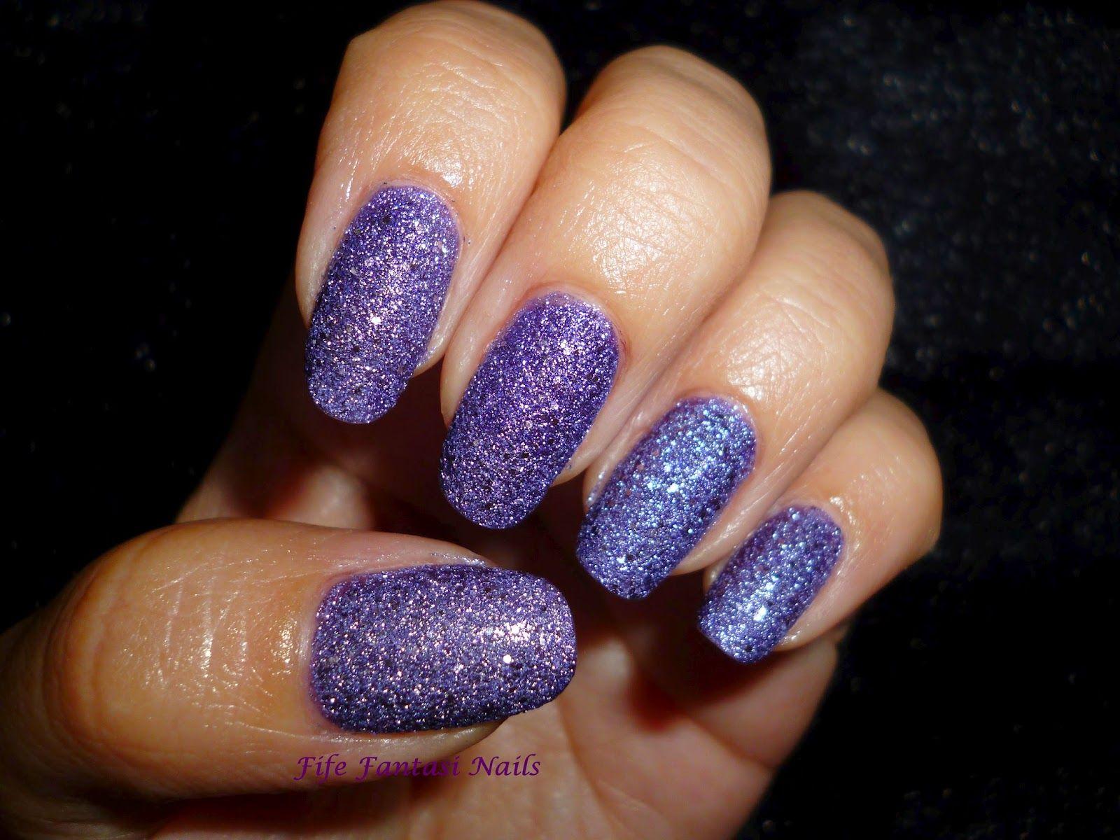 Fife Fantasi Nails : Meteorite magic