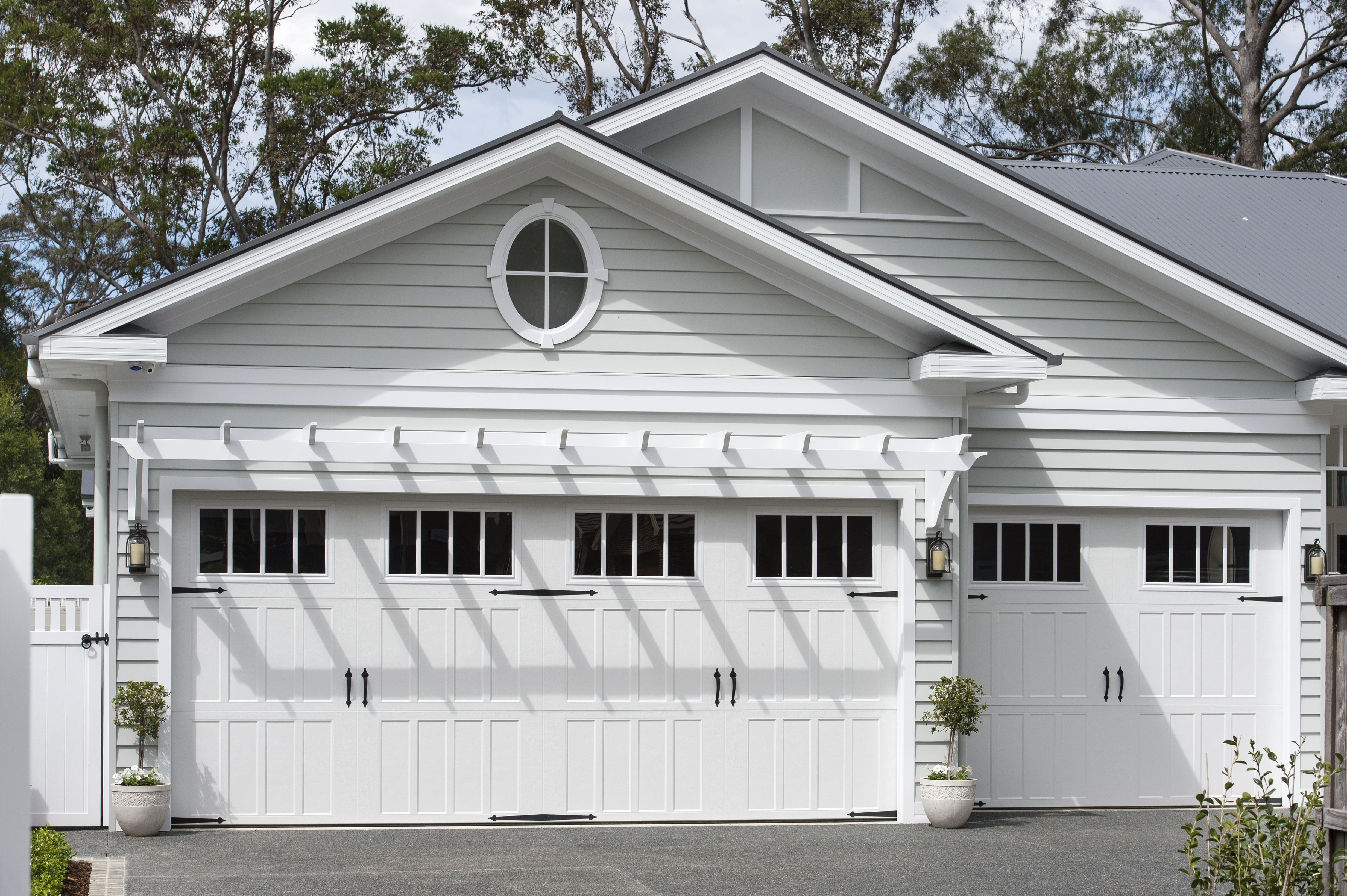 before glamour doors friday coastal garage feature appeal to priming my curb some adding home the