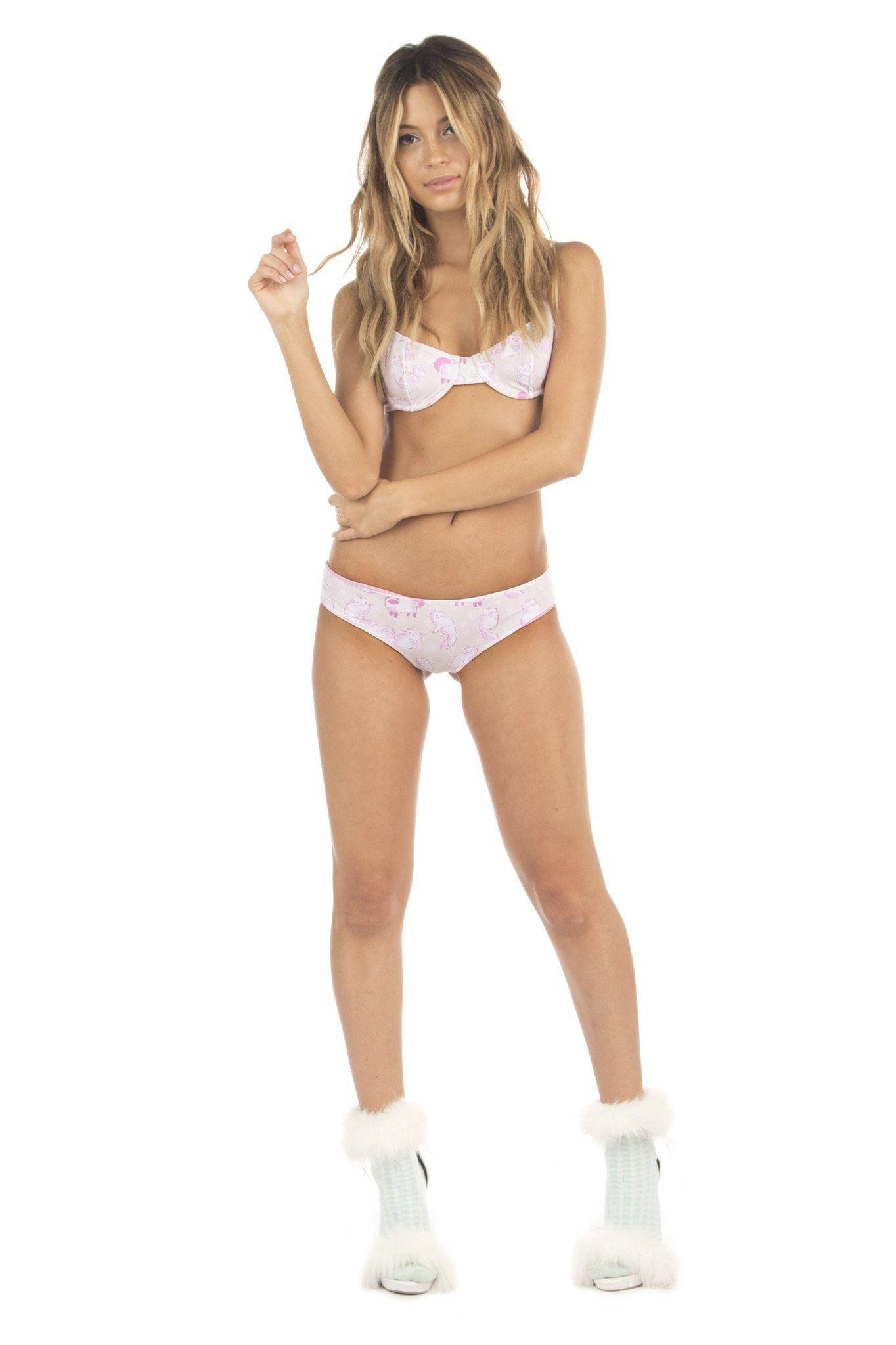 2da1f0b700 Lolli Swim Babe Bikini Top - Purr