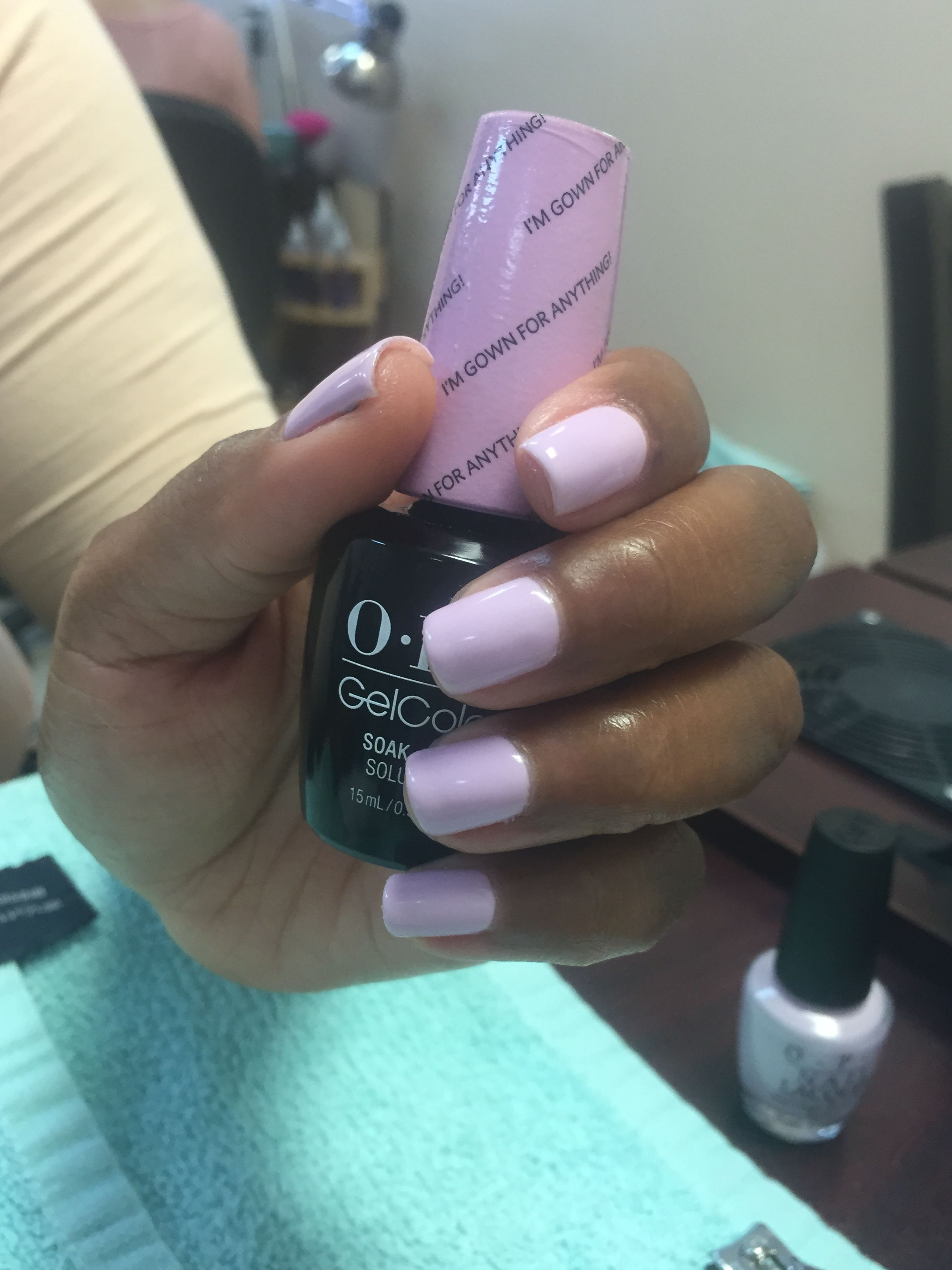 I\'m gown for anything! OPI | Natural Nails | Pinterest | OPI ...