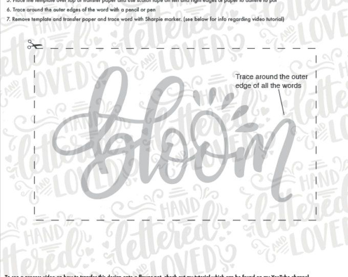 Uppercase Alphabet Brush lettering worksheets-printables | Etsy
