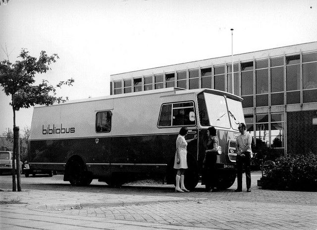 Bibliobussen Bookmobile Mobile Library Library Week