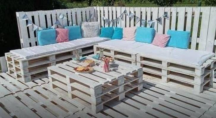 Fabriquer un salon de jardin avec des palettes pourquoi choisir des palettes