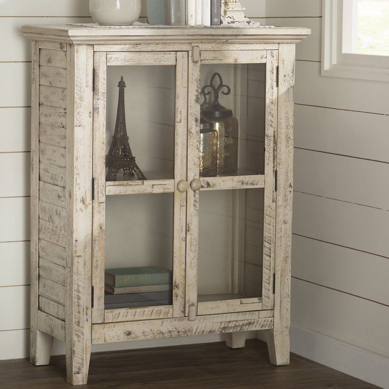 Eau Claire 2 Door Farmhouse Accent Cabinet Coffee Bar Pinterest