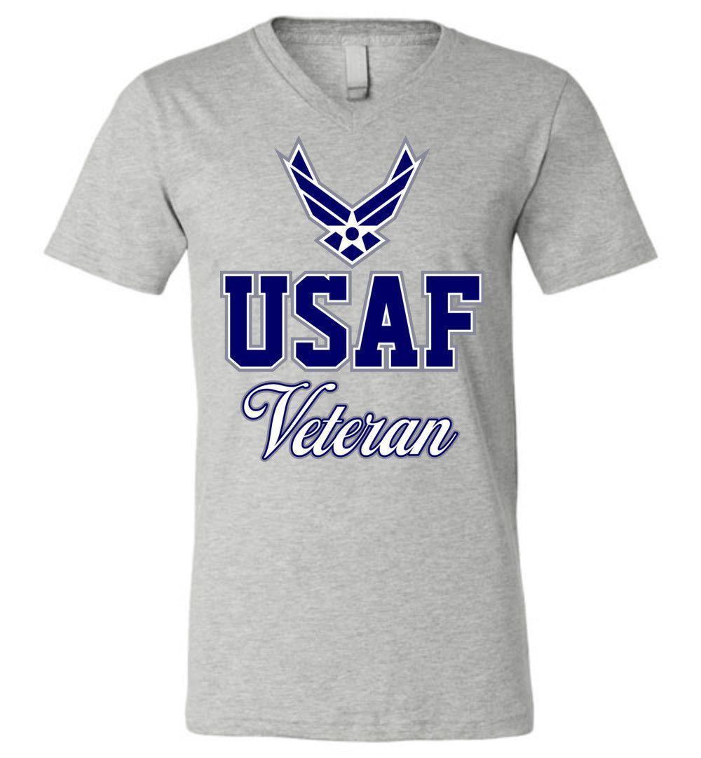 U.S. Air Force Veteran Unisex V-Neck T-Shirt