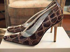 Dolce & Gabbana Crocodile Patent Leather Pumps New in box!  Retails $298 Size 8