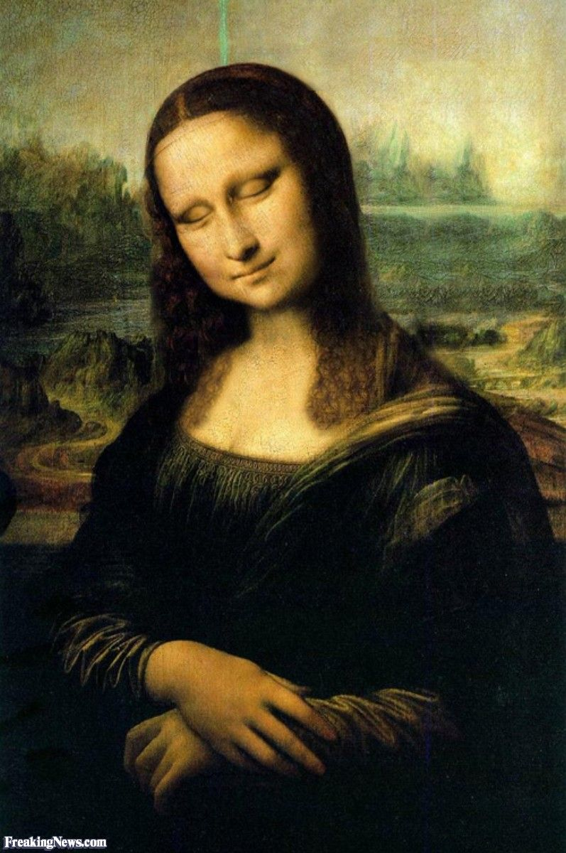 Mona Lisa Sleeps Mona Lisa Mona Mona Lisa Parody