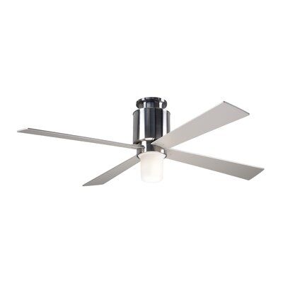 Modern Fan Company 50 Lapa Flush 4 Blade Ceiling Fan Light Kit