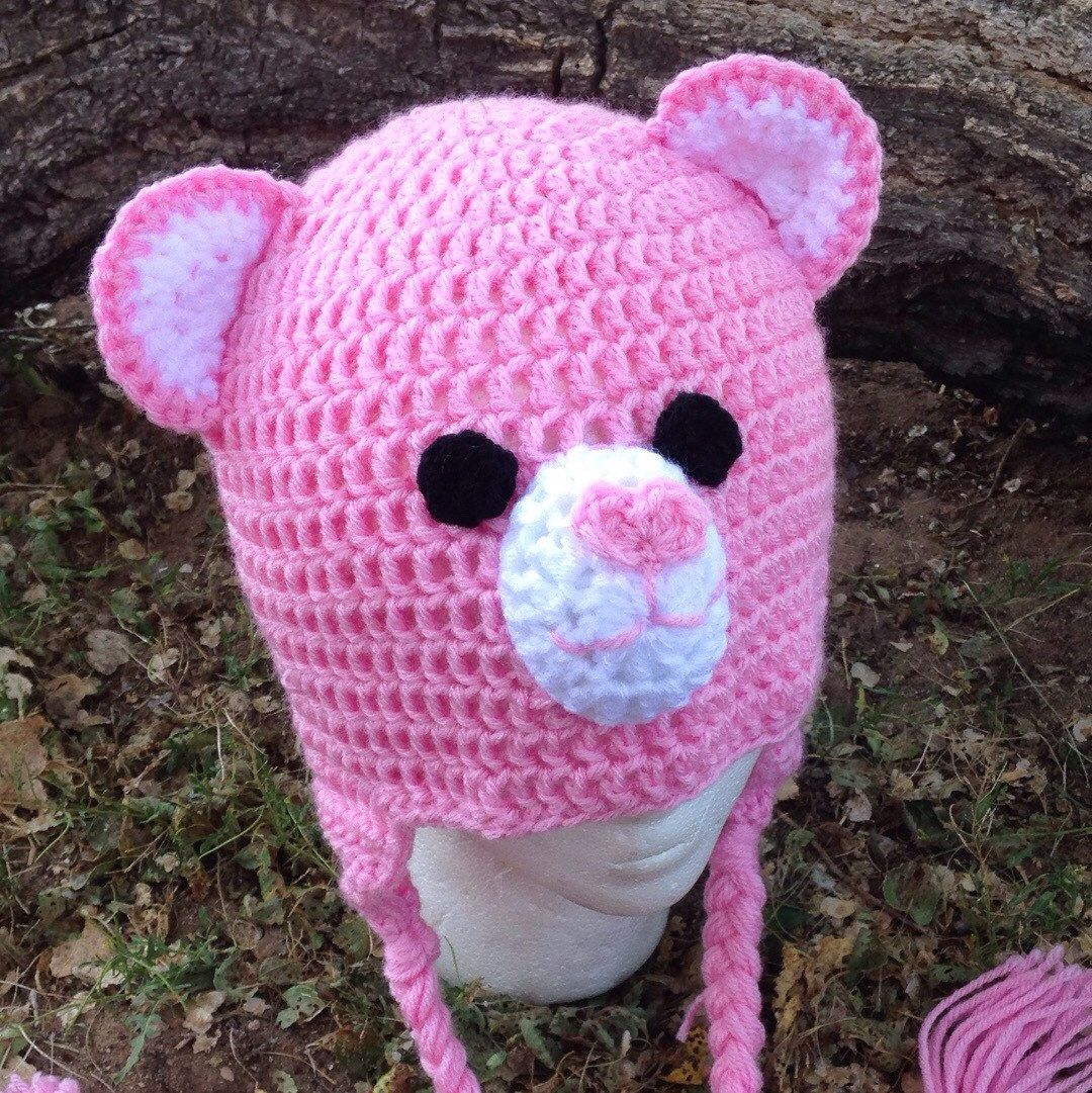 Super adorable care bear crochets hats can be made in any color super adorable care bear crochets hats can be made in any color and any size from bankloansurffo Choice Image