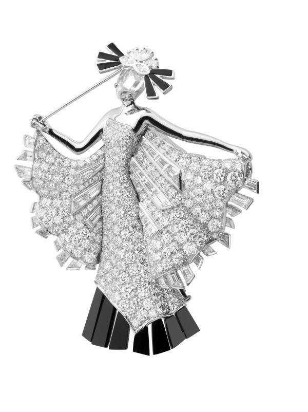 Van Cleef & Arpels, Bals de Légende collection, Le Bal Black and White de New York