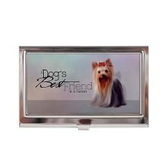 Yorkshire terrier business card case yorkie pinterest business yorkshire terrier business card case reheart Choice Image