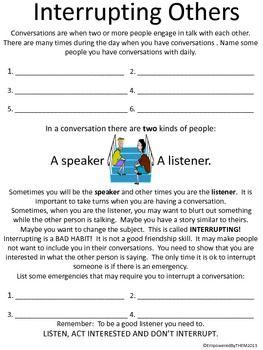 Friends Social Skills Worksheets Teaching Social Skills Social Skills Groups Social Skills