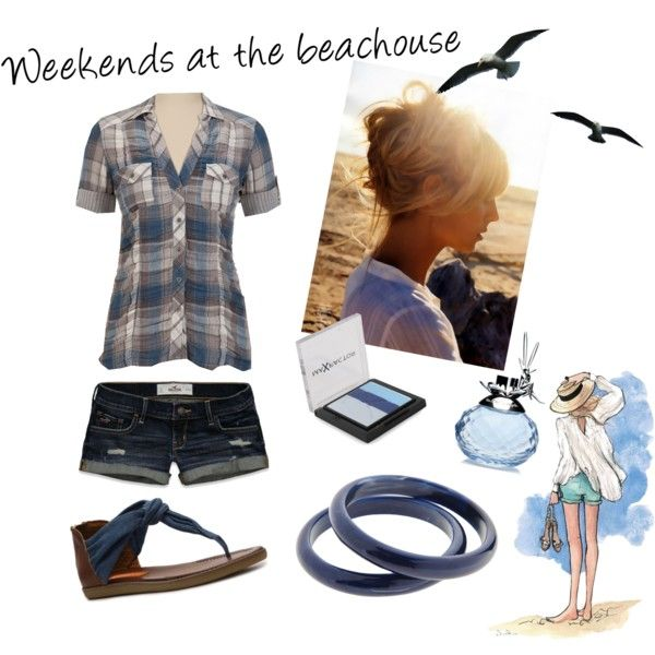 """""""Weekends at the beachouse"""" by misstammy on Polyvore"""