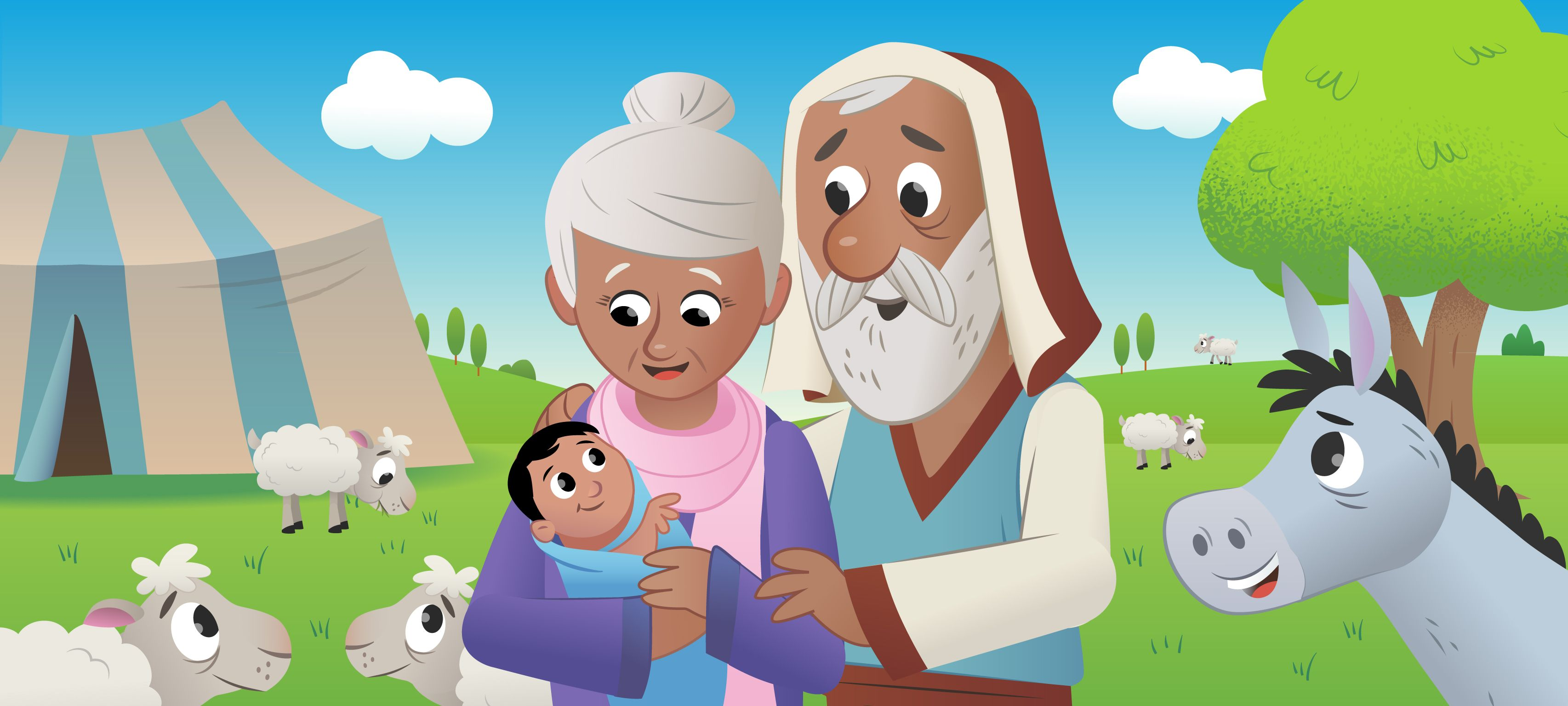 the bible for kids abraham - Google Search   KingdomABC: A is for ...