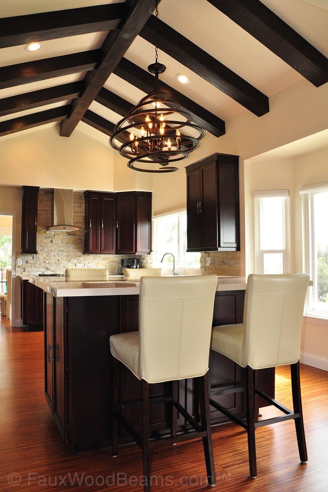 Home Interior Trends 2019 Faux Wood Is On The Rise Interior Design Kitchen Small Vaulted Living Rooms Painted Ceiling Beams